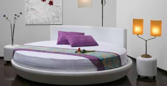 מיטה עגולה WISH